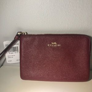 Coach Red Wallet